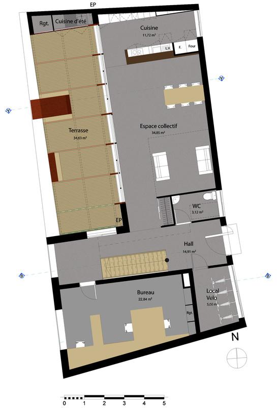 dumas-architectures Lyon - Plan RDC