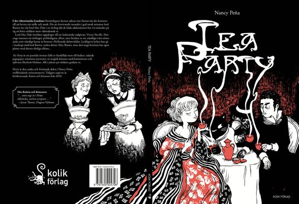 David Olgarsson | Portfolio - Nancy Peña - Tea Party (Kolik förlag, 2013)