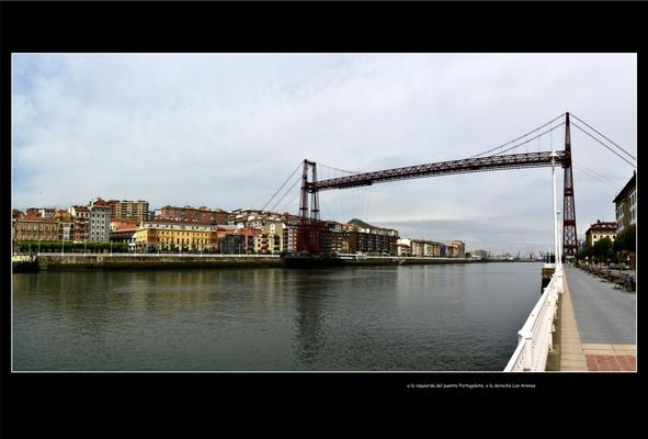Fotografias - Puente Vizcaya desde Las Arenas