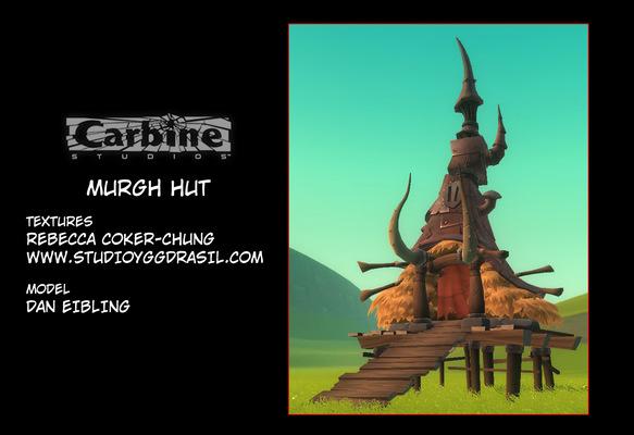Rebecca Chung Designs - Murgh hut