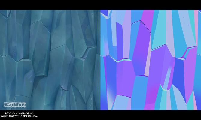 Rebecca Chung Designs - Ice texture