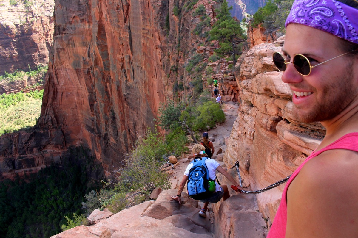 Genevieve French Photography - Austin - Angels Landing Trail, Zion National Park, Utah