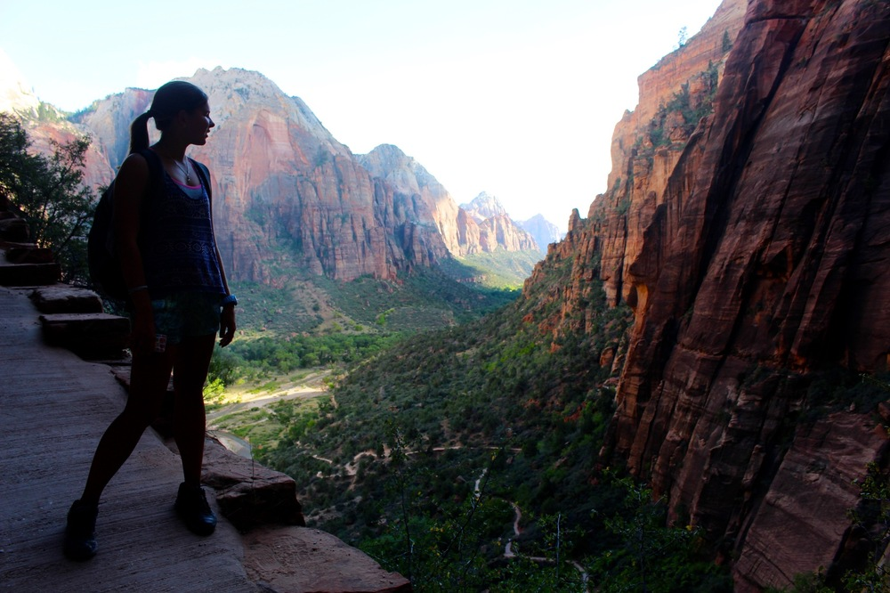 Genevieve French Photography - Maria - Angels Landing Trail, Zion National Park, Utah