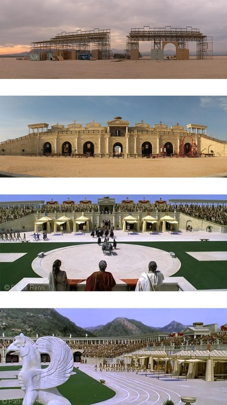 carlos zaragoza ▪ production designer - ASTERIX AT THE OLYMPIC GAMES / Asst. Art Director / Set construction & Film screenshots