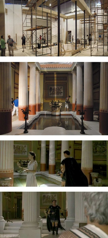 carlos zaragoza▪production designer - ASTERIX AT THE OLYMPIC GAMES / Asst. Art Director / Set construction & Film screenshots