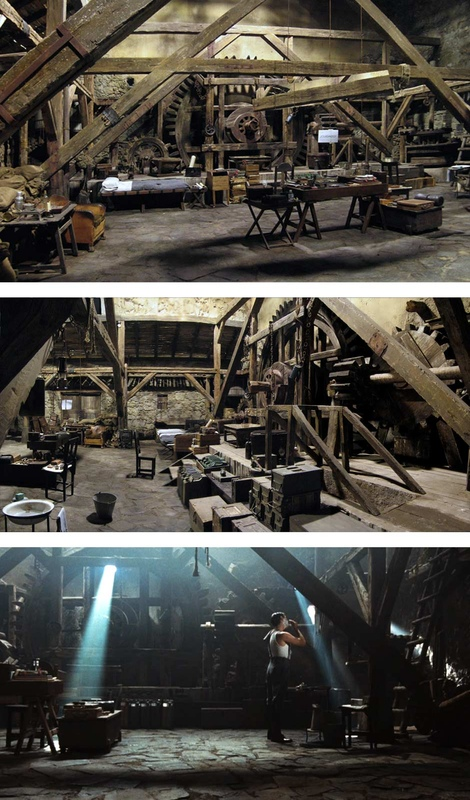 carlos zaragoza ▪ production designer - PANS LABYRINTH / 2006 / Asst. Art Director Set & Movie Stills