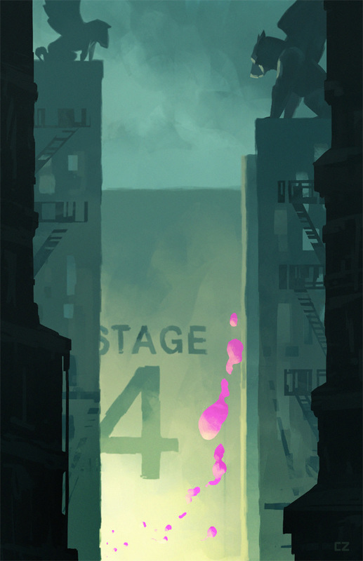 carlos zaragoza ▪ visual storytelling - STAGE 4 / Paramount Animation / CTN Expo Gallery Show