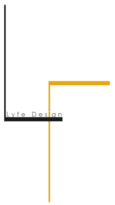 Lyla Feinsod - |Lyfe Design| Personal branding logo