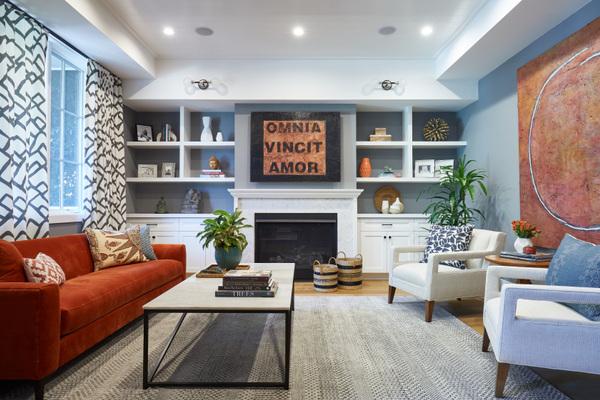 Gilmore Design Studio - living room