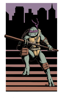 McLean Illustration - Donatello Color
