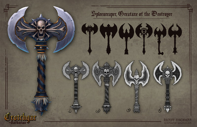 The Art of Randy Hagmann - Weapon Design