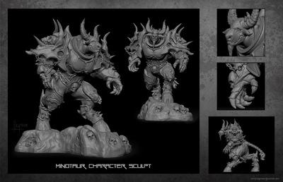 The Art of Randy Hagmann - Character Design - Zbrush Sculpt
