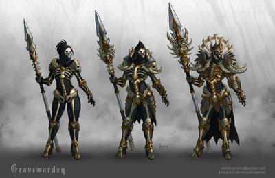 The Art of Randy Hagmann - Armor Design