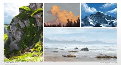 The Art of Randy Hagmann - 1 Hour Studies