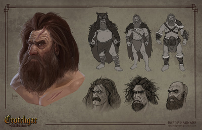 The Art of Randy Hagmann - Character Design