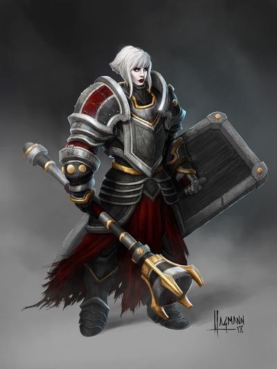 The Art of Randy Hagmann - Character Design - Cleric