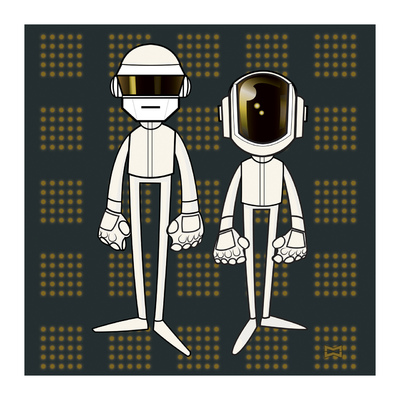 miguelwilson - DAFT PUNK Grammy Outfits