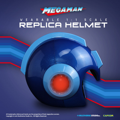 miguelwilson - Wearable Mega Man Helmet