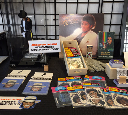 miguelwilson - Michael Jackson set up at Designer Con 2016