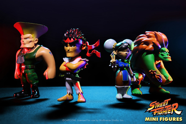 miguelwilson - Street Fighter Mini Figures