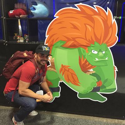 miguelwilson - Lifesize Blanka at San Diego Comic Con 2016