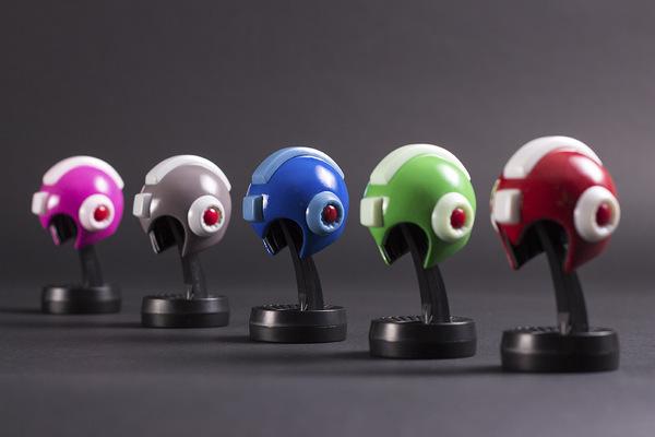 miguelwilson - Mini Mega Man Helmet 5-Pack