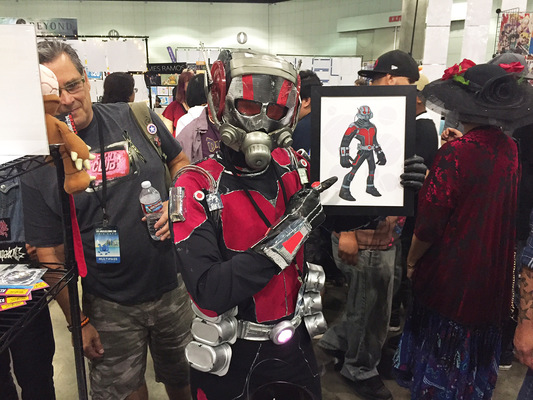 miguelwilson - Fan with Ant-Man print