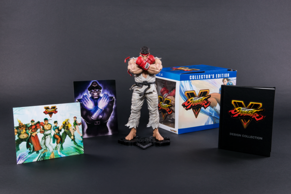 miguelwilson - Street Fighter V Collectors Edition
