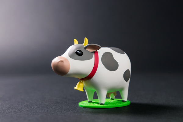 miguelwilson - Harvest Moon Cow Mini Figure - E3 2017 giveaway