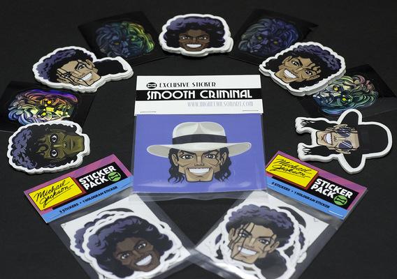 miguelwilson - Michael Jackson Sticker Packs