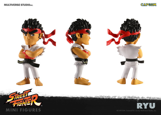 miguelwilson - Street Fighter Ryu Mini Figure