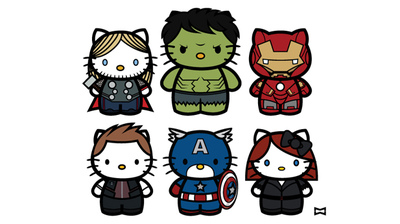 miguelwilson - KITTY AVENGERS
