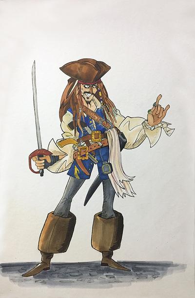 miguelwilson - Captain Jack