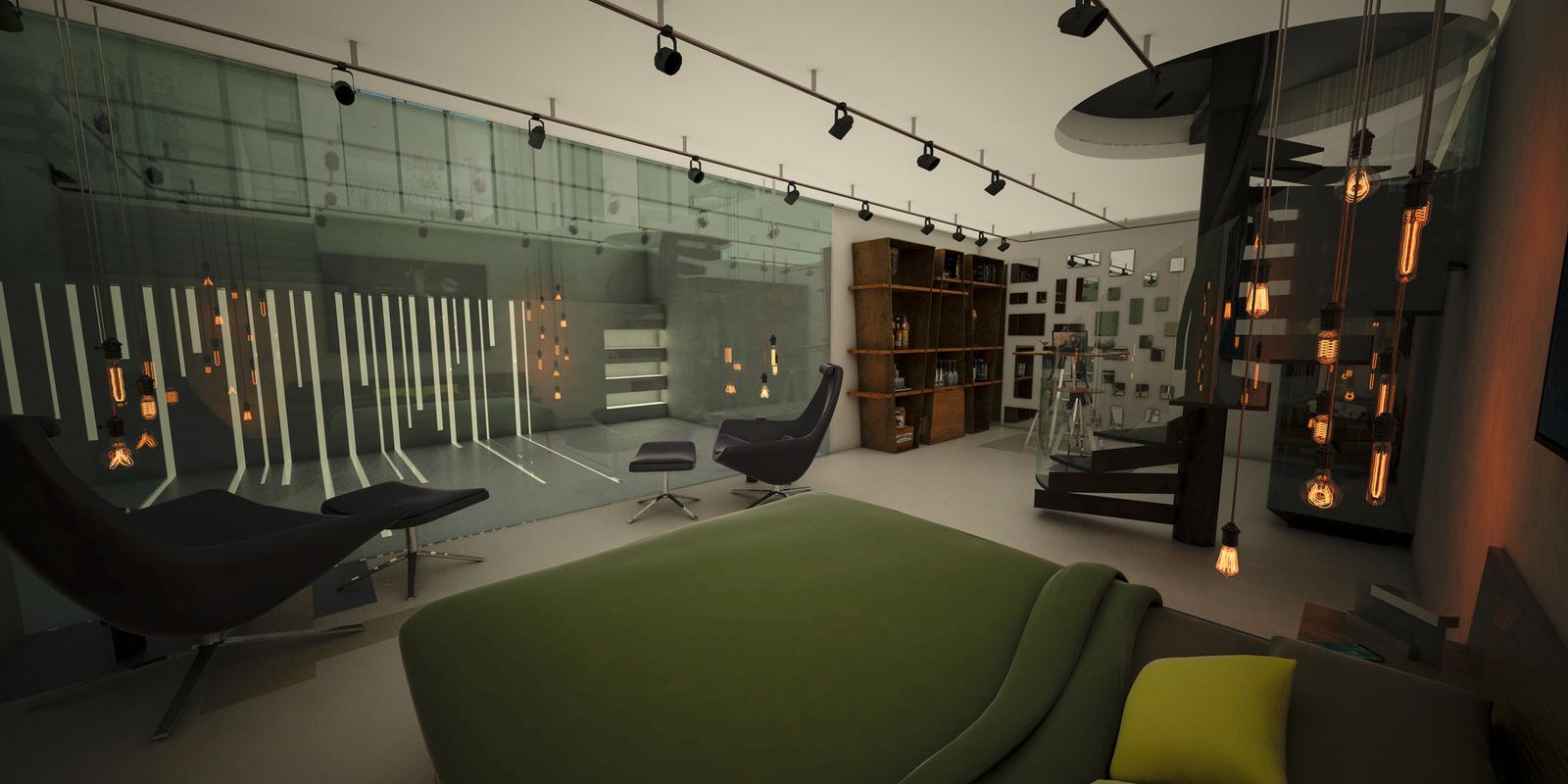 Diseñadora de Interiores - Habitación
