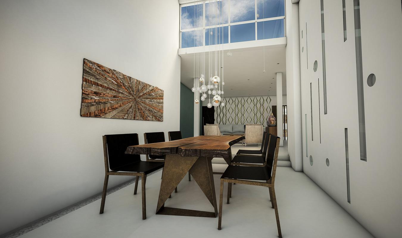 Diseñadora de Interiores - Comedor