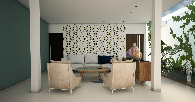 Diseñadora de Interiores - Sala