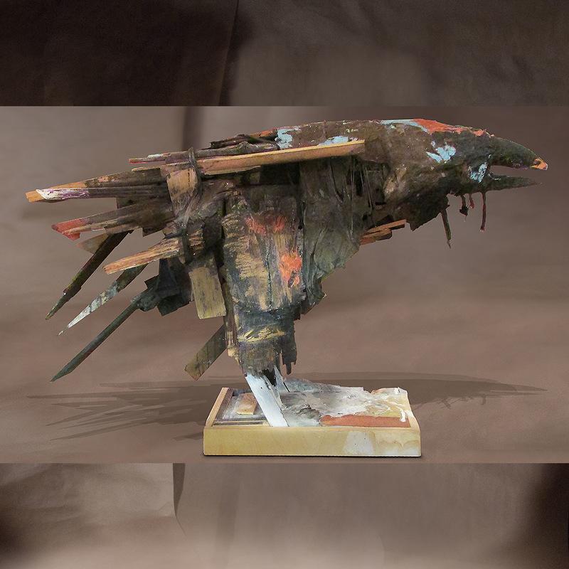 craigmartinezart - Old Raven