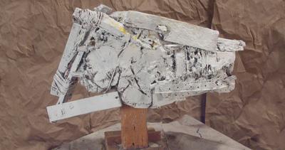 craigmartinezart - The Angry Horse / 15 x 21 x 9