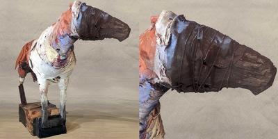 craigmartinezart - Horse Leans Forward