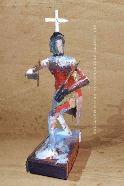 craigmartinezart - Apache Gaan Dancer No.1