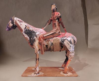 craigmartinezart - Scout on Horse
