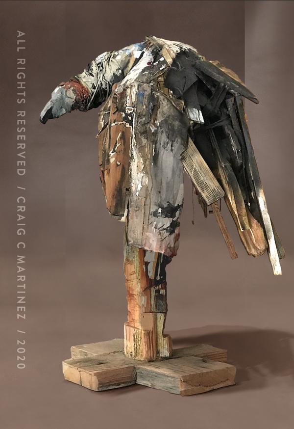 craigmartinezart - Perched Vulture