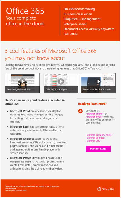 Stacy Reilly Design - Key Features of Office 365