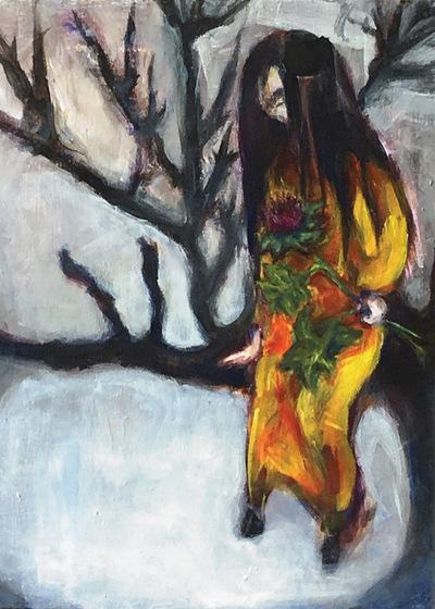 Alicia Marie Law - 12 x 16 Acrylic on canvas 2018Exhibited Vancouver Island School of Art 2018