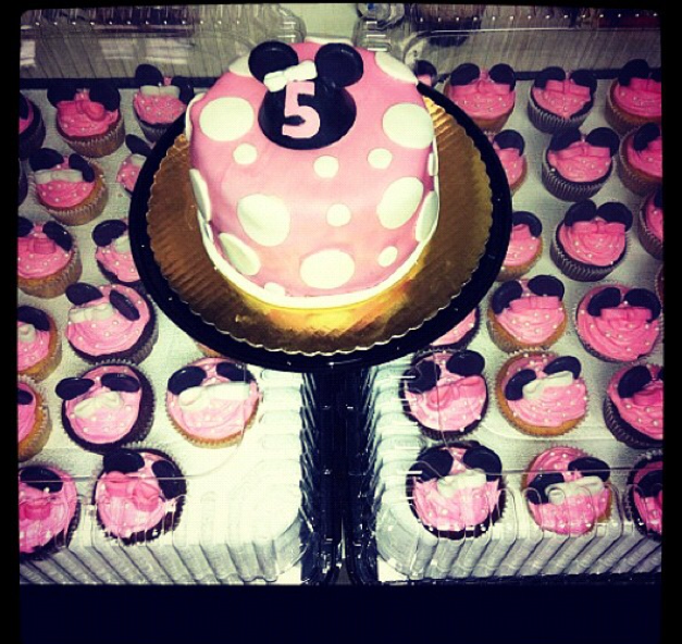A Bakers Journey - Minnie mouse party theme!