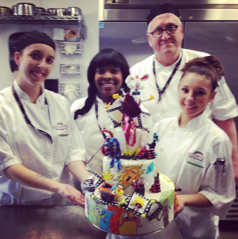 A Bakers Journey - My team and I on the finishing day!