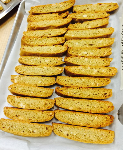 A Bakers Journey - Biscotti!