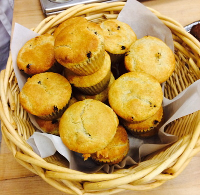 A Bakers Journey - BlueBerry muffins