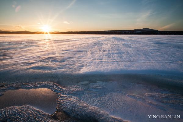 Ying RL Photography - Sunset on ice