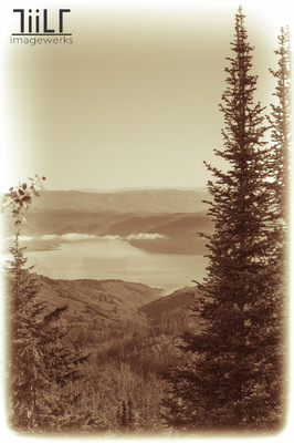 TiiLT Imagewerks - View of Strawberry Reservoir from FR 090, Uintah-Wasatch-Cache National Forest, Utah